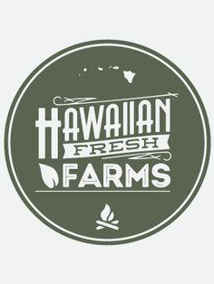 Hawaiian Fresh Farms logo
