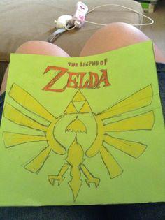 Zelda logo: Credit-Hyrulean Pikachu