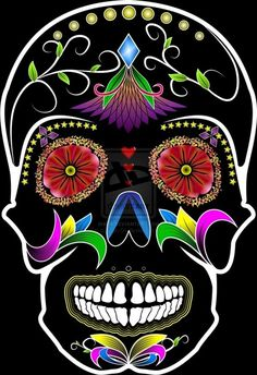 160 best Caveira Mexicana images on Pinterest | Sugar skulls ...