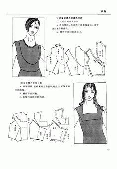 Chinese method of pattern making-