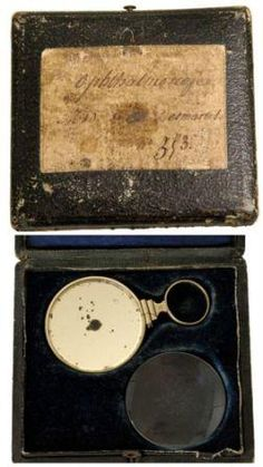 The parisian louis-auguste desmarres (1810-1882) was a well known french ophthalmologist whose name has been attributed to a number of ophthalmological instruments including this early silver.