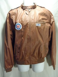 VINTAGE Camel GT Cigarette Gear Michigan Speedway Patches Jacket Coat-XXL-RARE