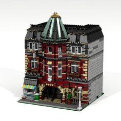 Modular Brick School: A LEGO® creation by Chris K : MOCpages.com
