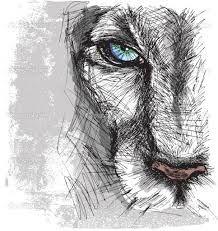 tumblr drawing lion - Cerca amb Google