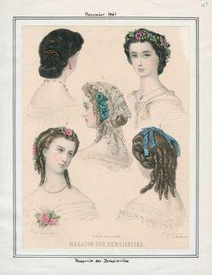 Magasin des Demoiselles, November 1861. LAPL Visual Collections.