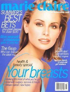 July 1997 cover with Niki Taylor Fashion Magazine Cover, Fashion Cover, Magazine Cover Design, Magazine Covers, Summer Body Goals, 90s Models, Fashion Models, Niki Taylor, Original Supermodels