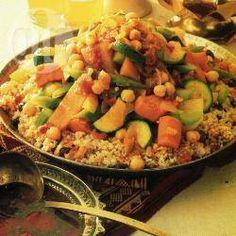 Couscous met groentestoofpot @ allrecipes.nl