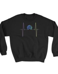 Heartbeat volleyball – sweater
