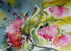 Rosier / Rose tree, via Flickr.