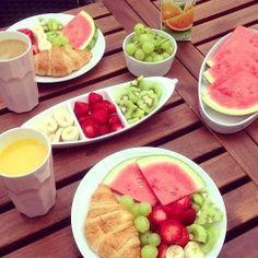 Frutas, como sempre as rainhas do verão!
