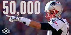 Tom Brady is the 6th NFL QB to pass for over 50,000 yards