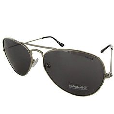 480c455ad144 Timberland Womens TB7075 010C Classic Aviator Sunglasses Silver -- Visit  the image link more details