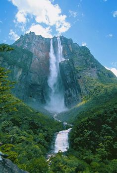 waterfall: Canaima National Park, Venezuela
