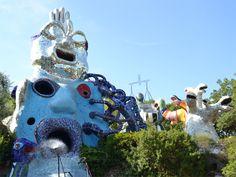 Il Giardino dei Tarocchi: la magia di Niki incanta la Maremma - http://www.girosognando.it/niki