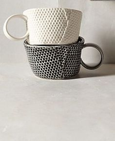 Hand-made ceramic cup