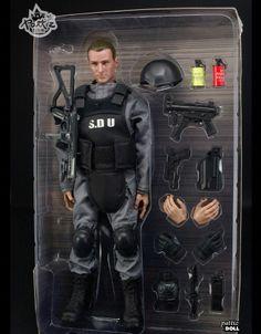 "12"" 1/6 Soldier SDU Action Figure Model Toy Military Army Combat Suit Retail Box"