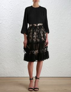 Karmic Lace Skirt