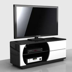 Tv Stand Furniture, Sideboard Furniture, Furniture Design, Tv Stand With Storage, Tv Storage, Living Room Tv, Living Room Furniture, Glass Sideboard, Television Cabinet