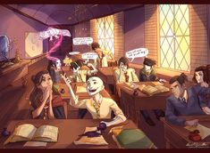 Avatarded Hogwarts by *viria13 on deviantART