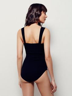 FP Intimately Philo Bodysuit (Black)