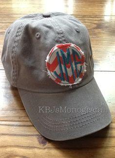 Im not a huge monogram lover but this is cute. Ladies Monogrammed Hat via Etsy $24