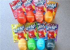 Kool-Aid Easter Eggs loc