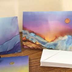 You can have these gorgeous greeting cards now! #greetingcards #aandkartstudio #landscape #landscapepainting #abstractlandscape #losangelesartist