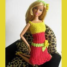 Image result for dress barbie knitting