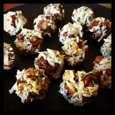 Coconut Almond Chia Balls (Gluten Free)
