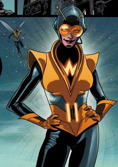 """Wasp  Character » Wasp appears in 2673 issues. Genetically altered by Dr. Henry Pym, Janet Van Dyne gained the power to shrink to insect size, fly and fire bio-electric energy """"stings."""" Calling herself """"the Wasp"""", she became Pym's superhero partner and later a founding member and first female member of the Avengers."""