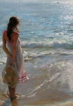 Painting by Vicente Romero Redondo , from Iryna