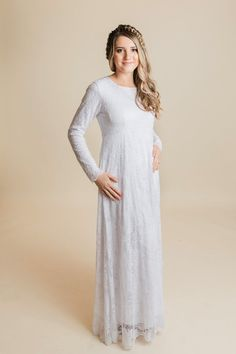 1e4927e1acb8e The Magnolia is a full lace temple dress. This dress is fully lined and is