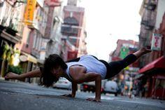 Lauren Imparato, yoga instructor, nyc