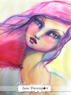 A beautiful artwork by a beautiful lady Jane Davenport