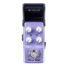 66.30$  Buy here - http://ali4jk.worldwells.pw/go.php?t=32435578898 - NEW Guitar effect pedal JOYO  Wow Wah Ironman series mini pedal VCA technology  JF-322 66.30$