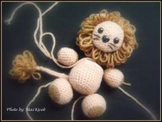 Free Amigurumi pattern: The Little Lion