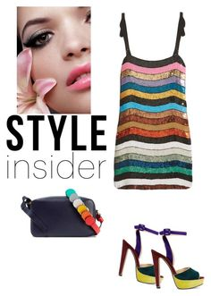 """""""Style insider"""" by zabead ❤ liked on Polyvore featuring Attico, Anya Hindmarch and Christian Louboutin"""