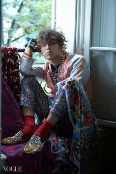 G-Dragon - Vogue Korea (January 2015)