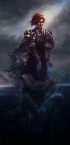 Sea Wizard by *Quberon on deviantART