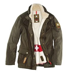 Strellson Swiss Cross Original jacket, 10th anniversary edition #swisscross