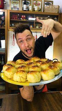 ESSA É A RECEITA DE PÃO DE MILHO DE LATINHA QUE FEZ EU DOBRAR A MINHA RENDA FAMILIAR! #pao #paodemilho #milho #manualdacozinha #receita #alexgranig #sobremesa #doces #comida #culinaria #gastronomia #chef