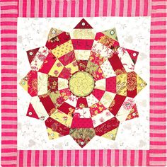 Dresden Plate by Chris Jurd | Patchwork Fundamentals: It's contagious