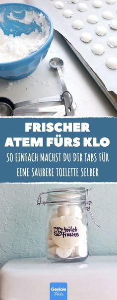 So einfach machst du dir deine eigenen Tabs für eine saubere Toilette