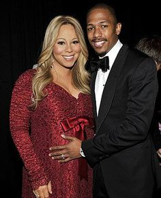 Pin for Later: You Have to See These 89 Celebrities' Ultimate Maternity Looks Mariah Carey Mariah Carey and Nick Cannon showed off the bump that would become Moroccan and Monroe. Celebrity Baby News, Celebrity Maternity Style, Celebrity Couples, Pregnancy Looks, Pregnancy Photos, Pregnancy Tips, Mariah Carey Pregnant, Mariah Carey Nick Cannon, Pregnant Celebrities