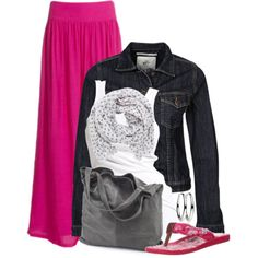 """""""Pink Maxi"""" by wishlist123 on Polyvore"""