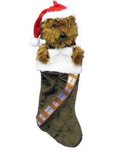 Star Wars Chewbacca Plush Head Stocking