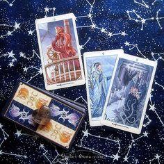 Cards from the Universal Goddess Tarot / Photo © www.VioletAura.com