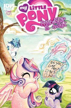 My little pony friendship is magic 11 comic covers twily, shining and Cadance My Little Pony Comic, My Little Pony Drawing, My Little Pony Pictures, Little Kid Shows, Princess Cadence, Mlp Comics, Mlp Pony, The Secret History, My Little Pony Friendship