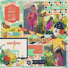 Layout using {I Am Carefree} Digital Scrapbook Kit by Wild Dandelion Designs available at Sweet Shoppe Designs http://www.sweetshoppedesigns.com/sweetshoppe/product.php?productid=31136&cat=756&page=1 #wilddandeliondesigns