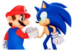 Mario & Sonic crossover - Wii U; no Olympics games but an actual platform game where Mario and Sonic do battle against Bowser and Dr Eggman